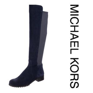 Michael Kors Joanie Suede 50/50 Over The Knee Boot